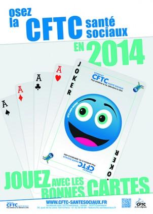 Poster : le jeu de cartes