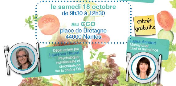 Venez voir à Nantes, l'événement : «A tout âge, le bien-être vient en mangeant»