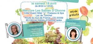 Venez voir aux Sables d'Olonne, l'événement : «A tout âge, le bien-être vient en mangeant»