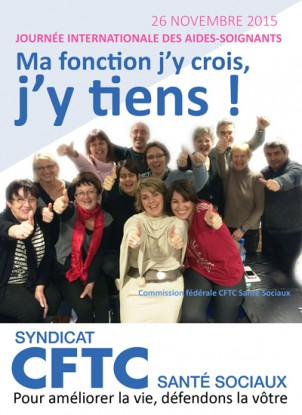 JOURNÉE INTERNATIONALE DES AIDES-SOIGNANTS<br/></noscript> DU 26 NOVEMBRE 2015