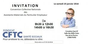 Rencontre avec les Assistants Maternels de Pons (Charente-Maritime)