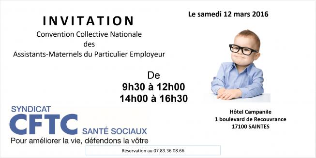 Journée d'information pour les Assistants Maternels de Saintes (Charente Maritime)