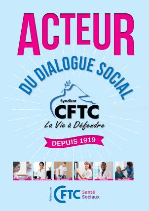 Poster : « CFTC : acteur du dialogue social »