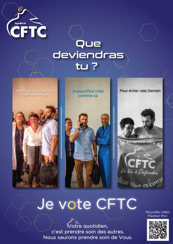 Élections Fonction Publique: Affiche pour voter